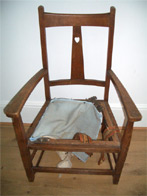 Chair Caner - before